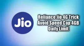 Reliance Jio 4G Unlimited Trick