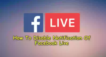 """Facebook Live"" Notifications Ko Band Kaise Karte Hai?"