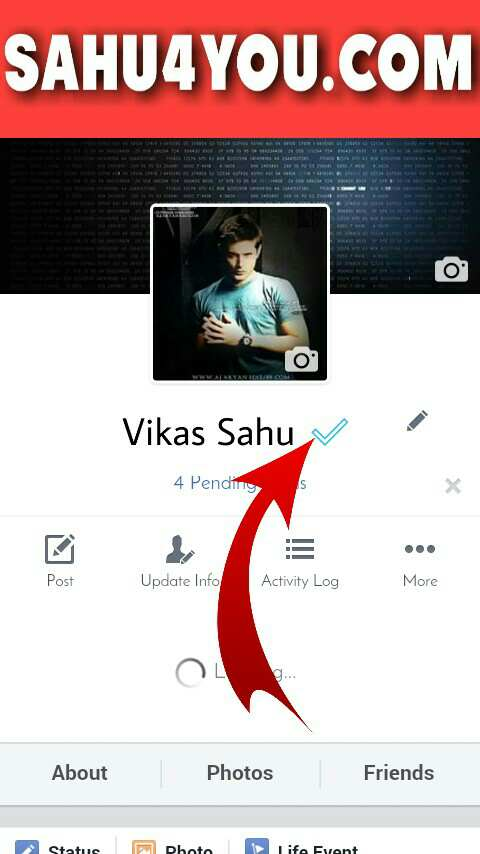 blue tick mark, Facebook tricks, Kaise kare, how to, trick 2017