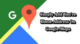 How To Add Home Address On Google Maps In Hindi Full Trick