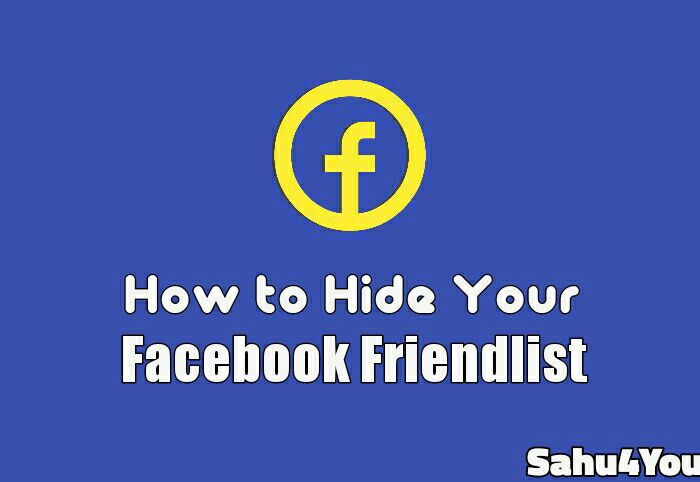 How to Hide Facebook Friend List In Hindi – Facebook Friend List Hide Kaise Kare