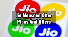Jio Monsoon Offer Kya Hai, New Offers Plans, Recharge Kaise Kare