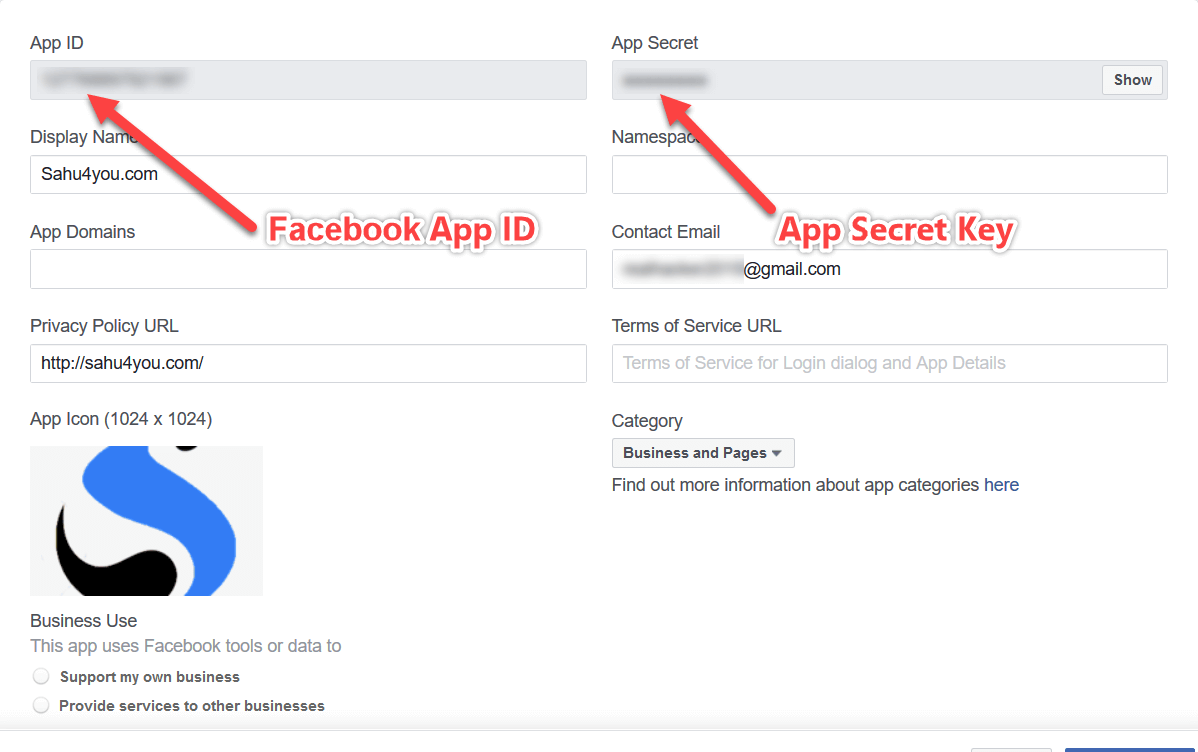 Facebook App ID Setup In Hindi(1)