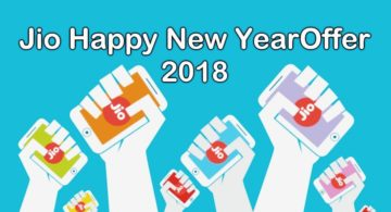 Reliance Jio Happy New Year 2018 Offer, Plan, Cashback, Promocode In Hindi