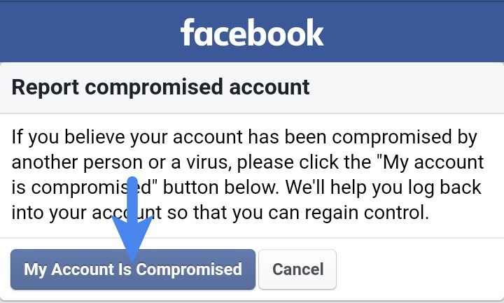 My Account Is Compromised