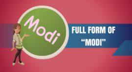 Full Form of Modi in Hindi