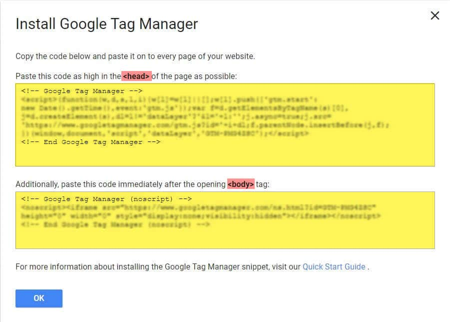 GTM (Google Tag Manager)