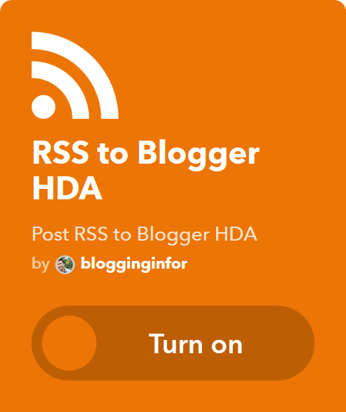 RSS to Blogger HDA