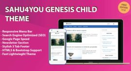 Download Sahu4You Child Genesis Theme For WordPress
