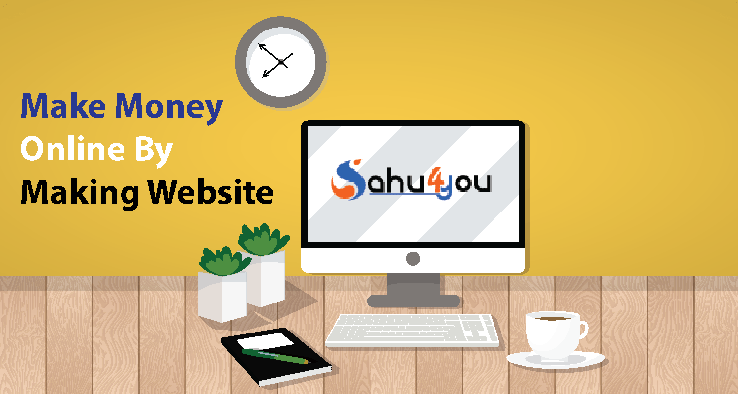 Make Money Online By Making Website