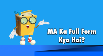 What is MA Full Form in Hindi