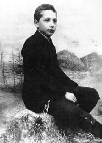 Albert Einstein in 1893 (age 14)