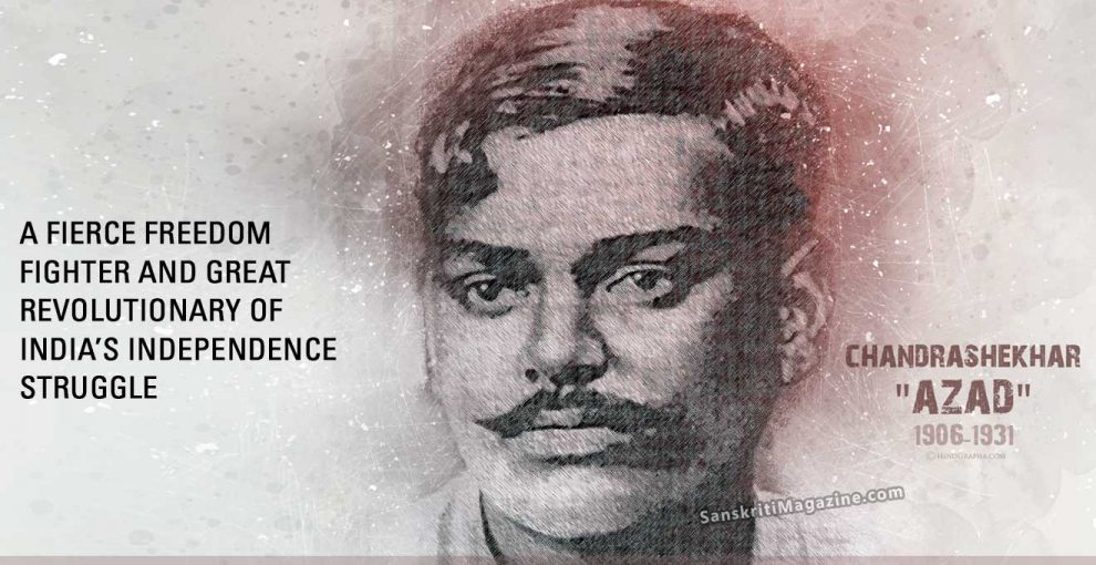 Source: Sanskriti Magazine Chandrashekhar Azad
