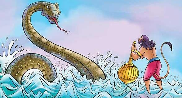 Hanuman Crossing Sea