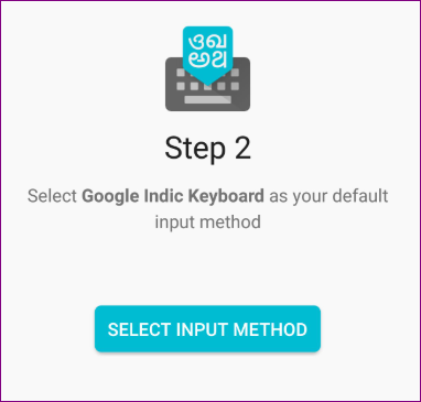 Select Indic Keyboard Language