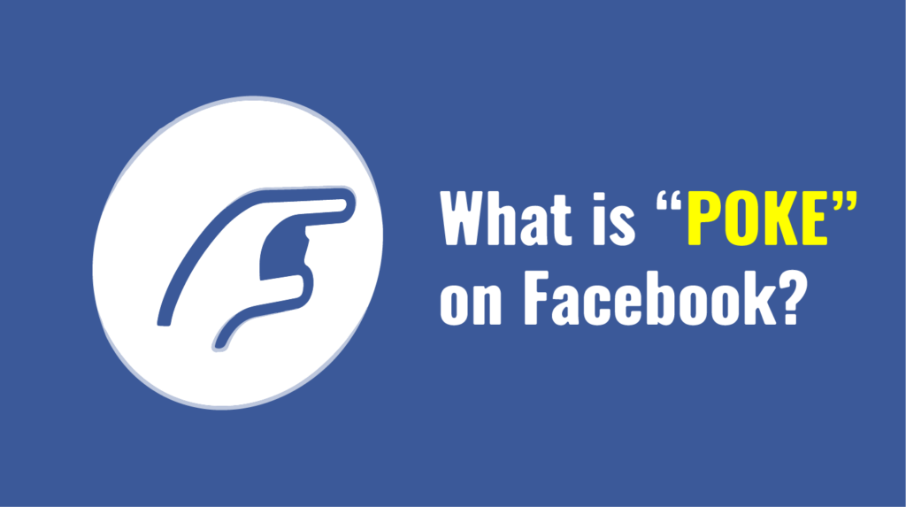 What is Facebook Poke Meaning in Hindi